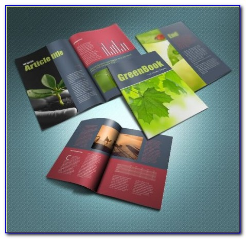 A5 Book Cover Template Indesign