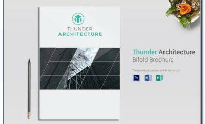 Adobe Illustrator Bi Fold Brochure Template