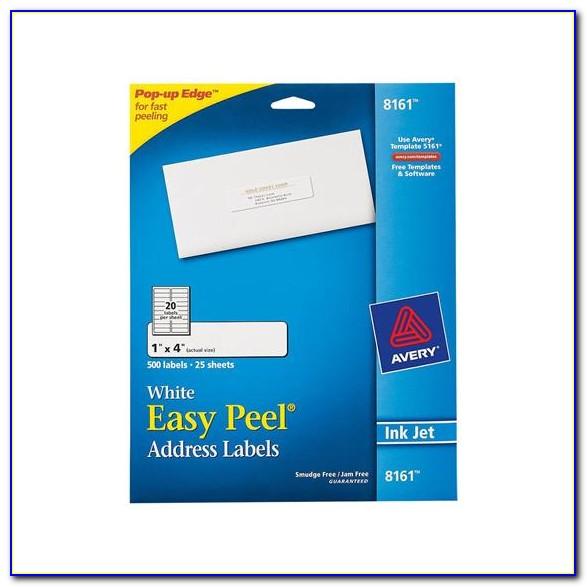 Avery Inkjet Labels 8161 Template