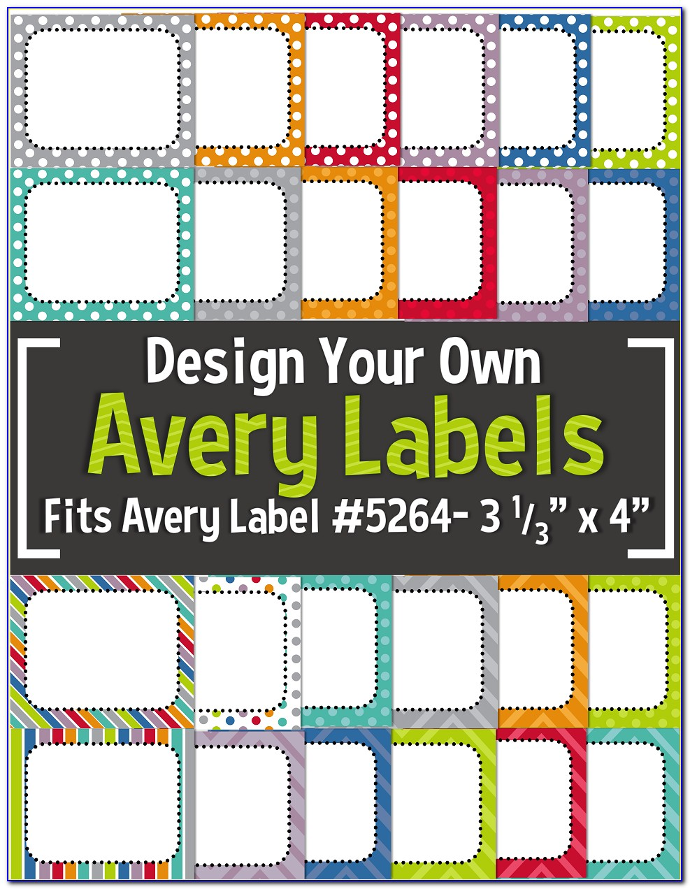 Avery Label Template 5160 For Mac