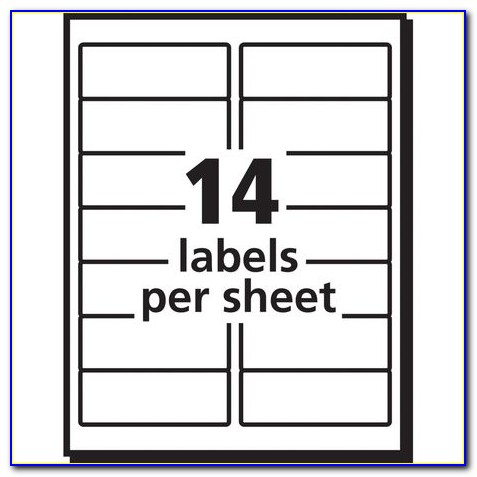 Avery Laser Labels 5261 Template