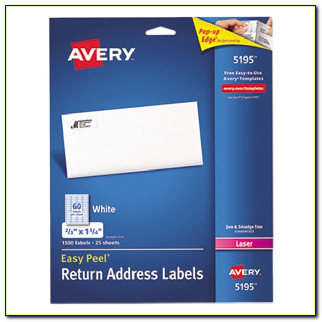 Avery Template Label 5160
