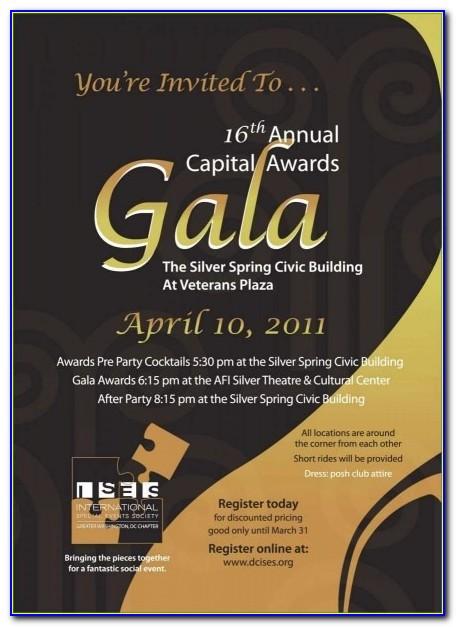 Award Ceremony Program Templates