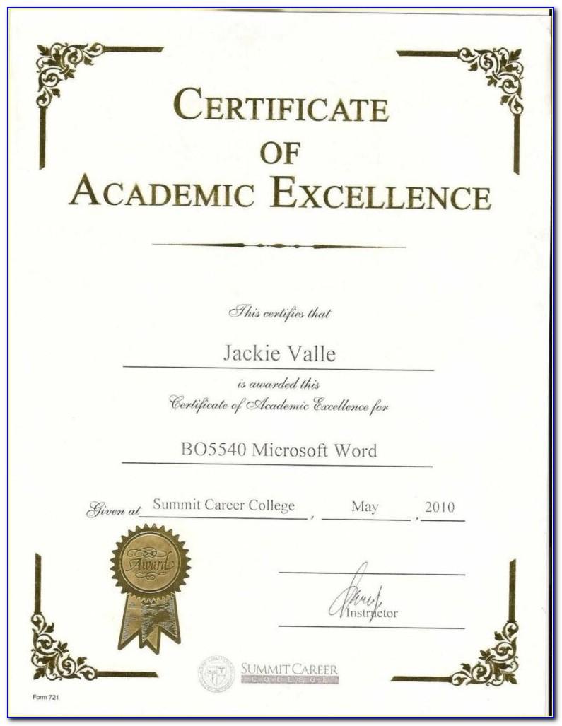 Award Certificates Of Appreciation Templates