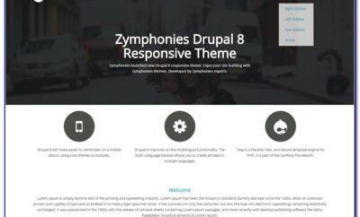 Best Responsive Drupal Templates