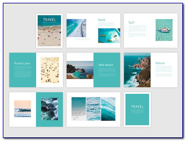 Book Cover Template Indesign