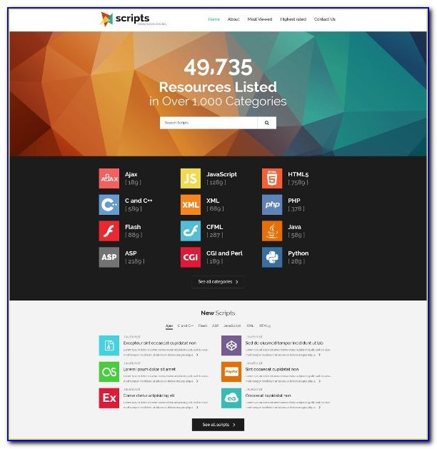 Bootstrap Directory Listing Theme