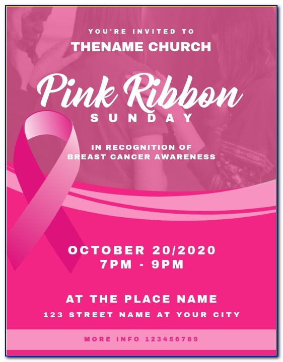 Breast Cancer Awareness Template Powerpoint