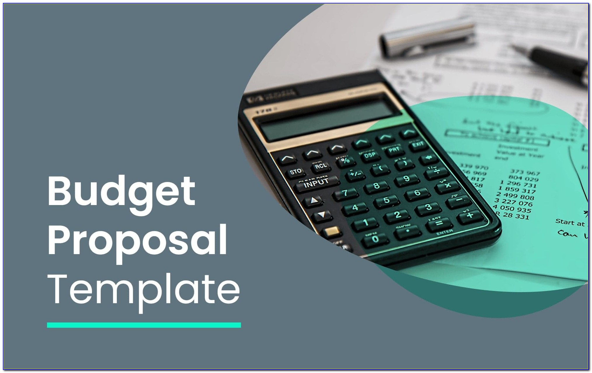Budget Form For Small Business