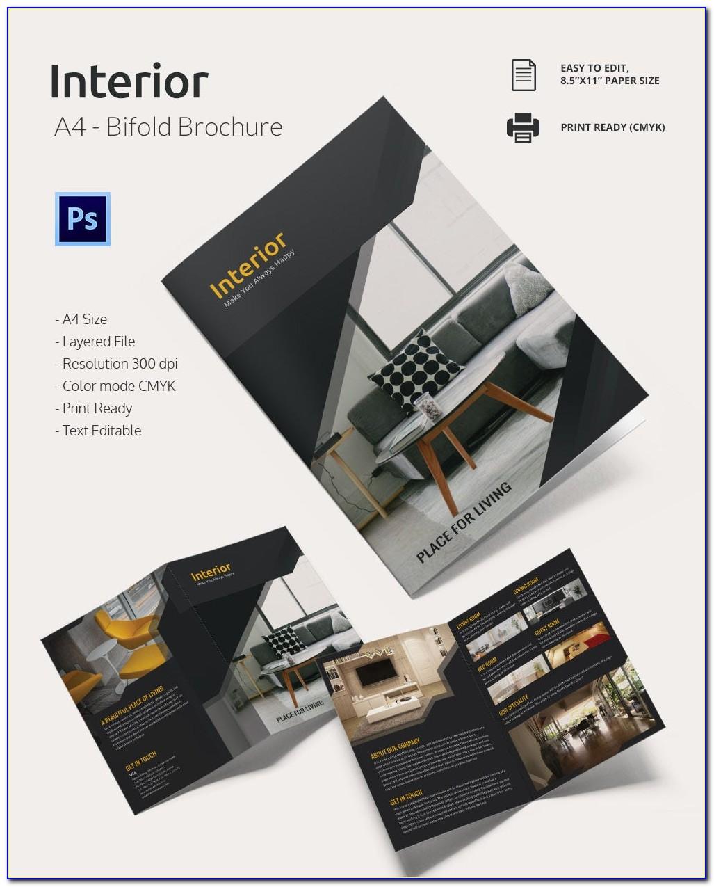 Microsoft Publisher Bi Fold Brochure Template