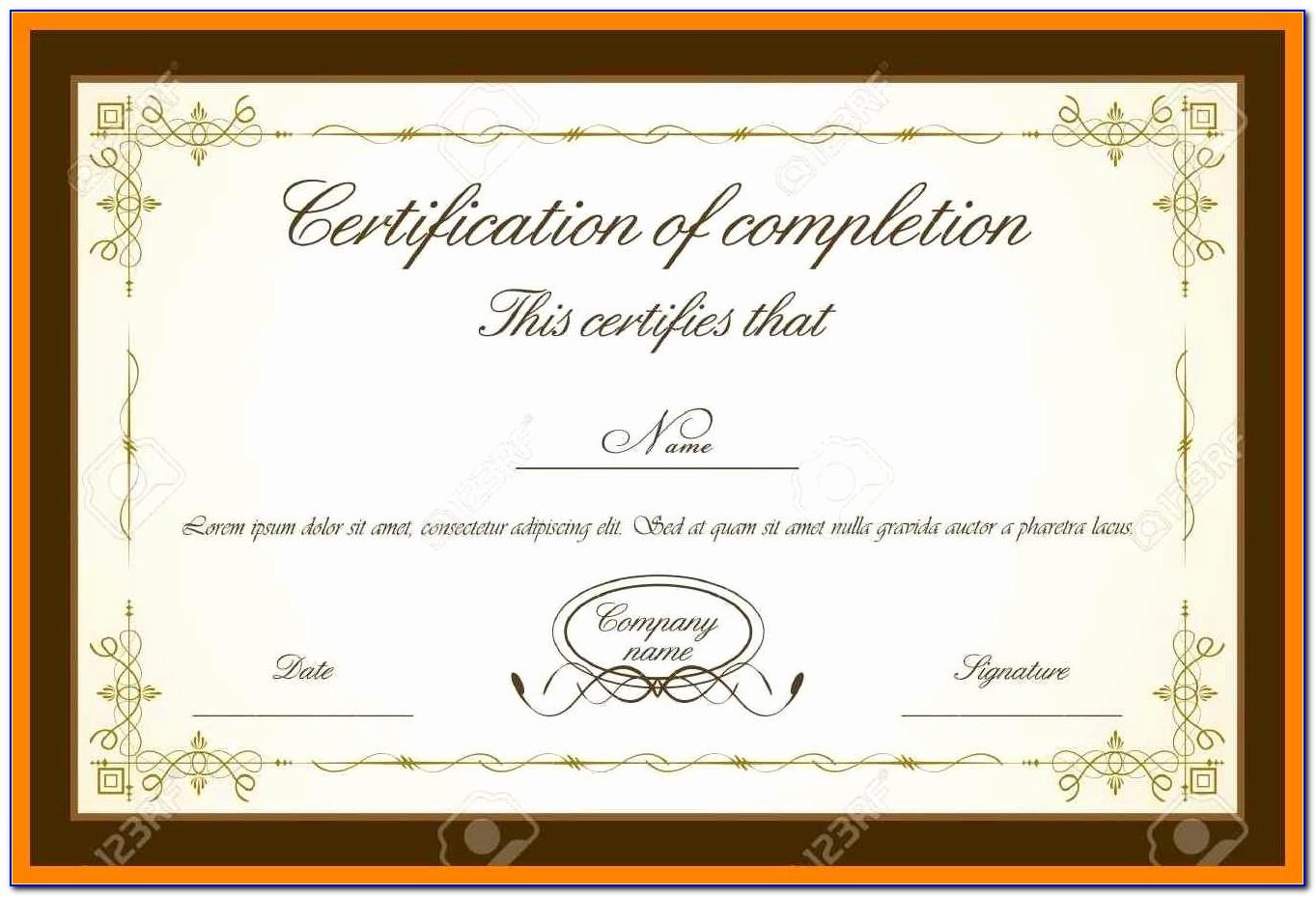Publisher Templates Award Certificates