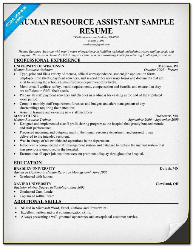 Assistant Manager Quality Resume Format