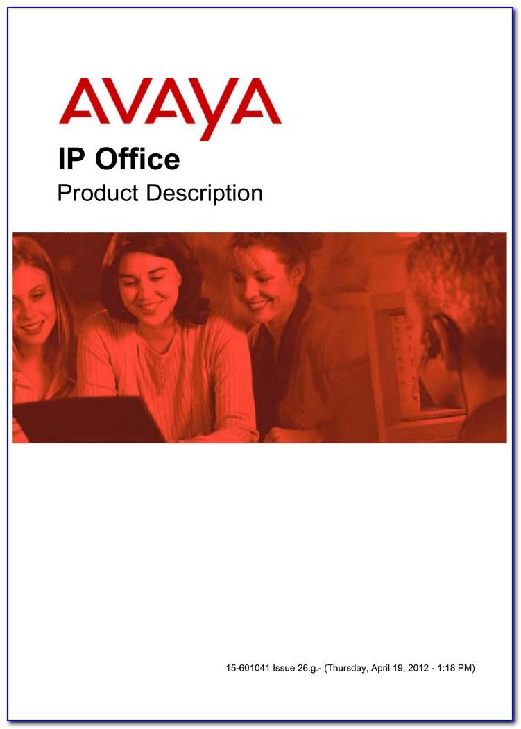 Avaya 1616 Phone Label Template