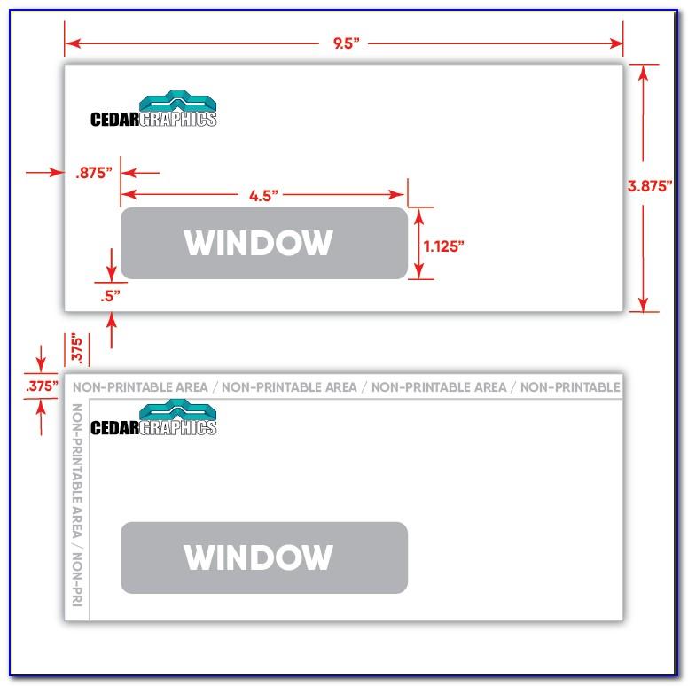 10 Window Envelope Template Pdf