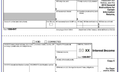 1099 Div Excel Template