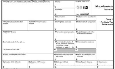 1099 Editable Form 2017