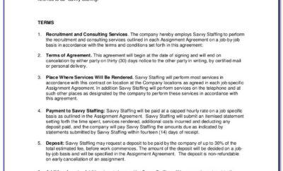 1099 Employee Contract Agreement