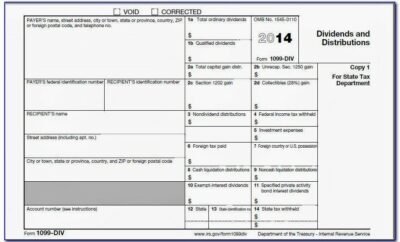 1099 Form Template Download