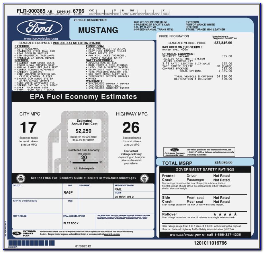 2018 Honda Accord Invoice Price