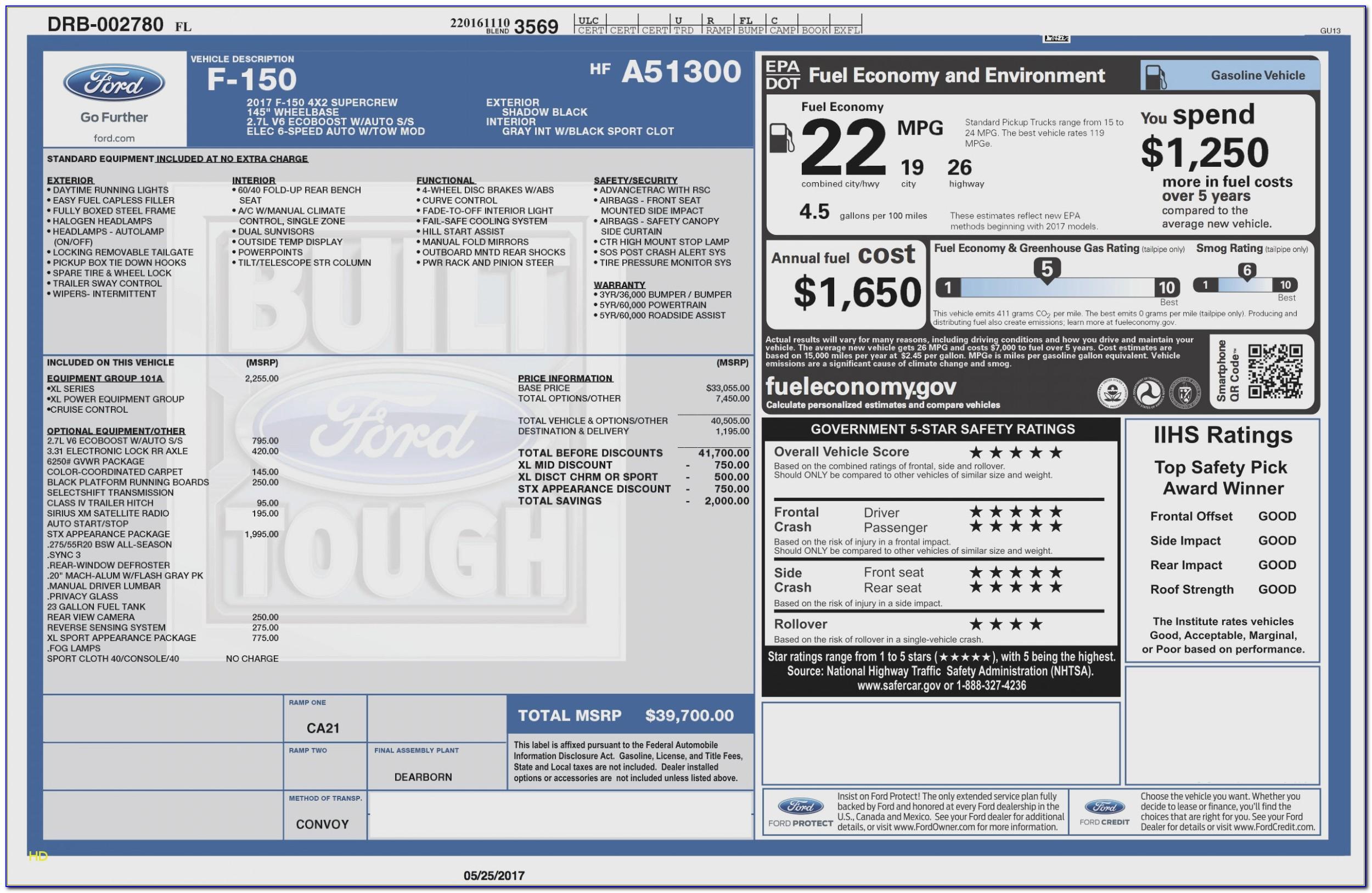 2018 Honda Accord Lx Invoice Price