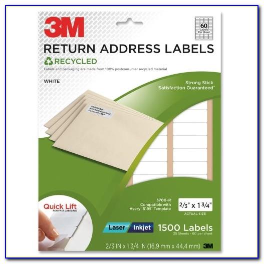 3 M Laser Inkjet Labels Template
