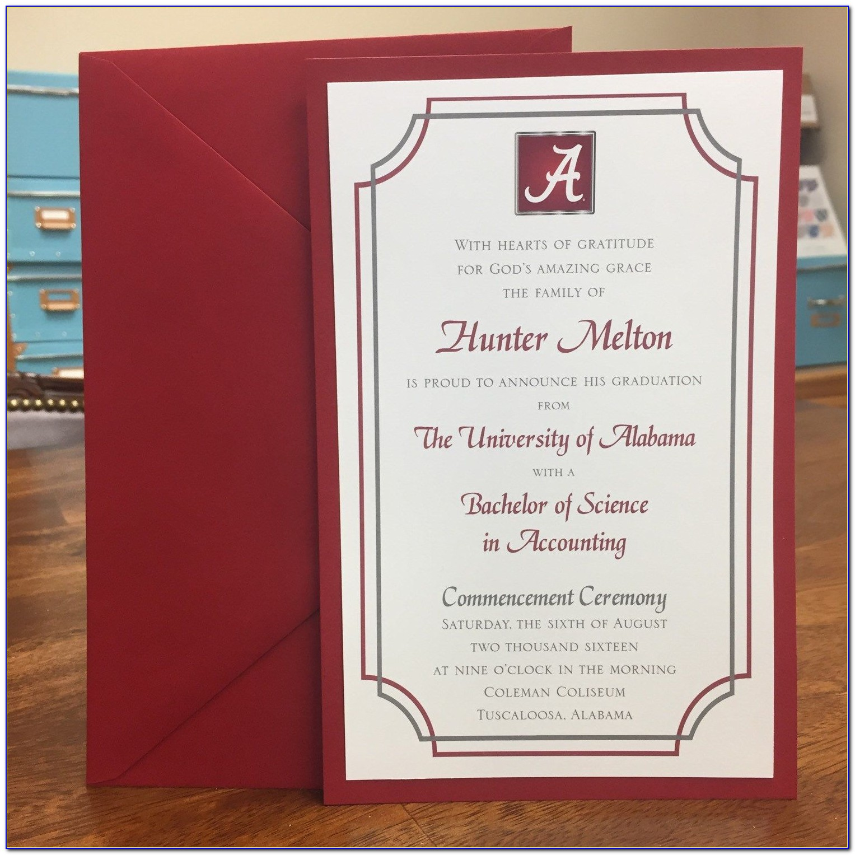 Alabama Graduation Announcements