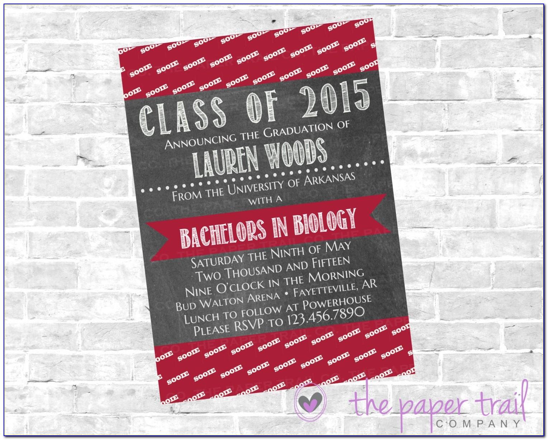 Arkansas State University Graduation Announcements