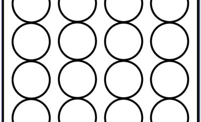 Avery 1 Inch Circle Label Template