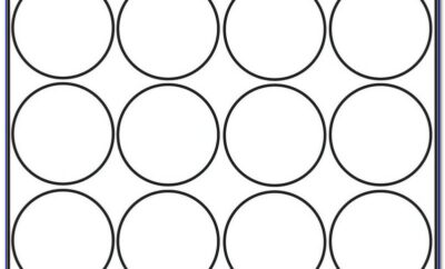 Avery 1 Inch Round Label Template