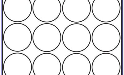 Avery Circle Labels 1 Inch Template