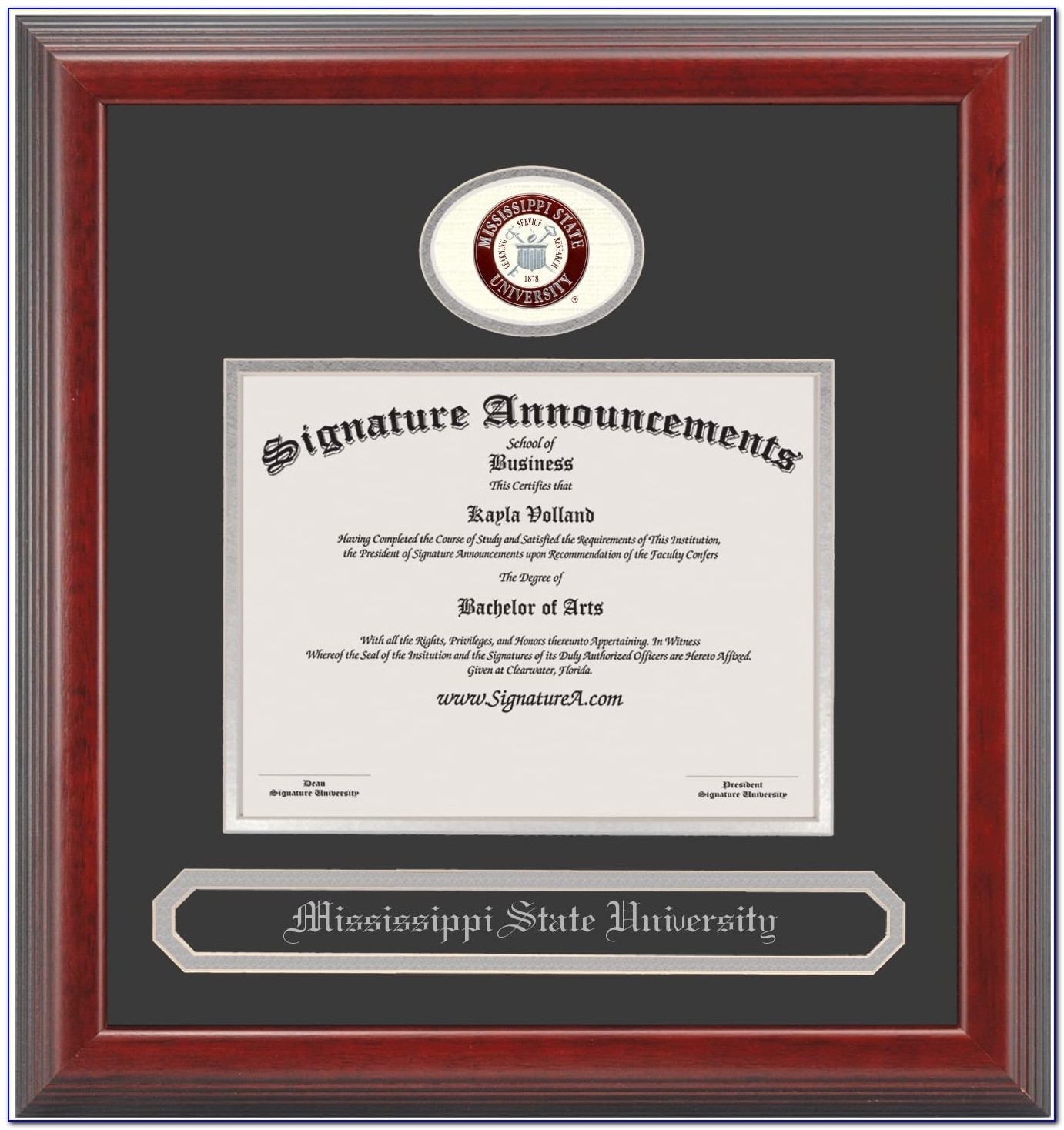 Ball State Graduation Announcements