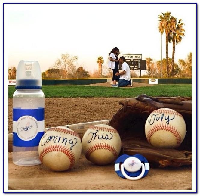 Baseball Pregnancy Announcement Shirt