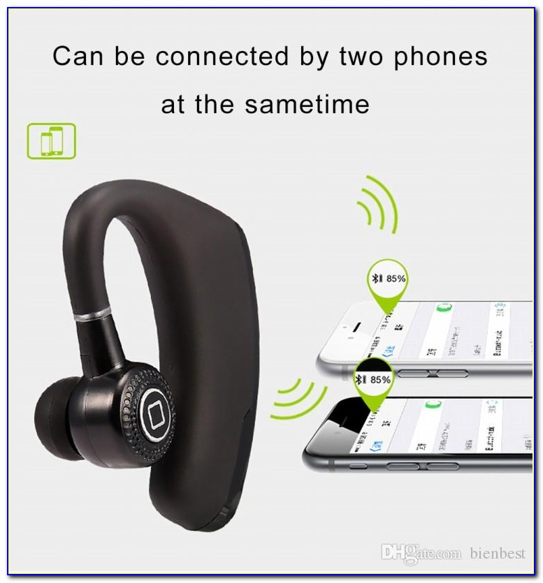 Bluetooth Headset With Caller Announce