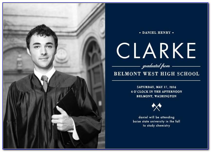 Boise State Graduation Announcements