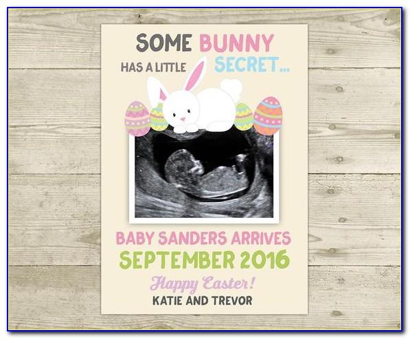 Bunny Pregnancy Announcement