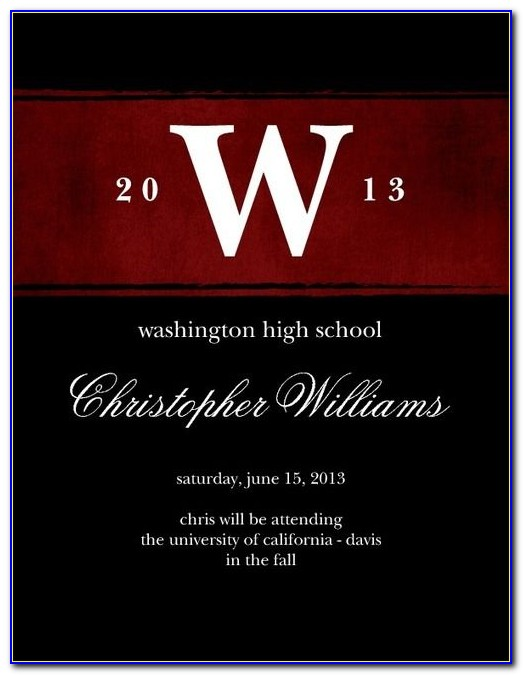 Cal State East Bay Graduation Announcements