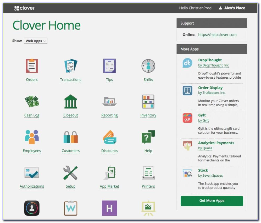 Clover Invoicing App