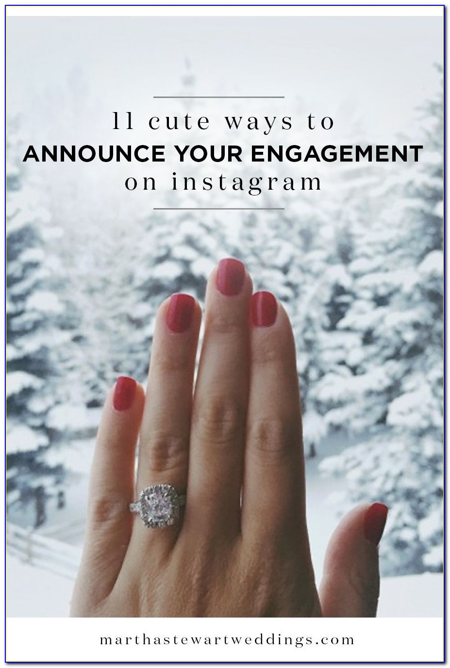Cute Phrases To Announce Engagement