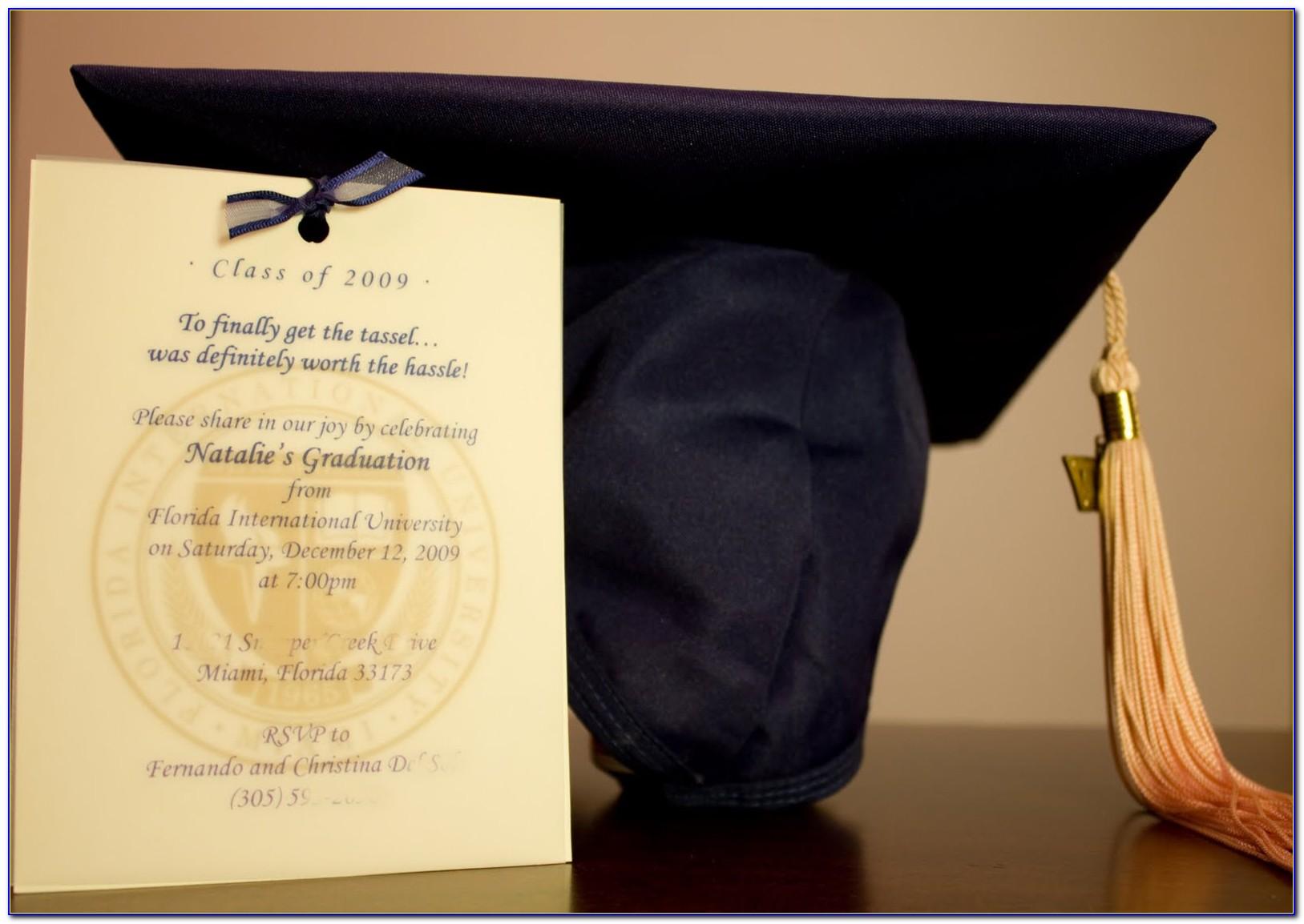 Fiu Graduation Announcements