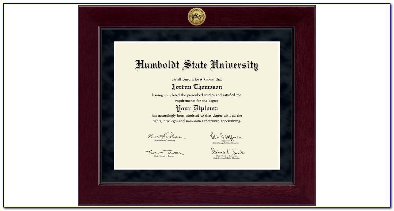 Humboldt State University Graduation Announcements