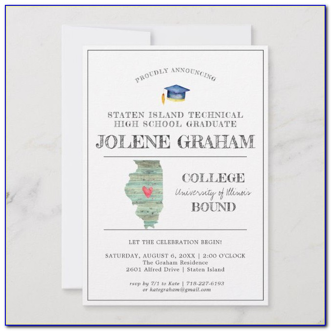 Illinois State University Graduation Announcements