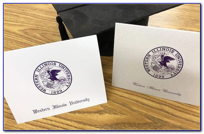 Indiana State University Graduation Announcements
