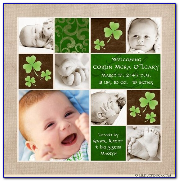 Irish Birth Announcements
