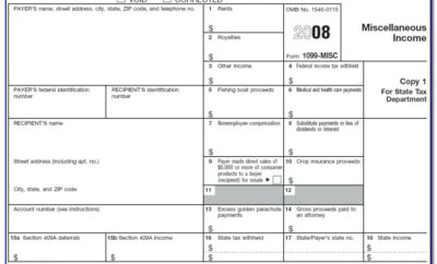 Irs Form 1099 Contract Labor