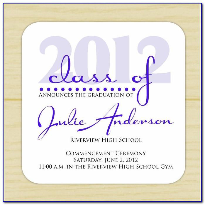 K State Graduation Announcements