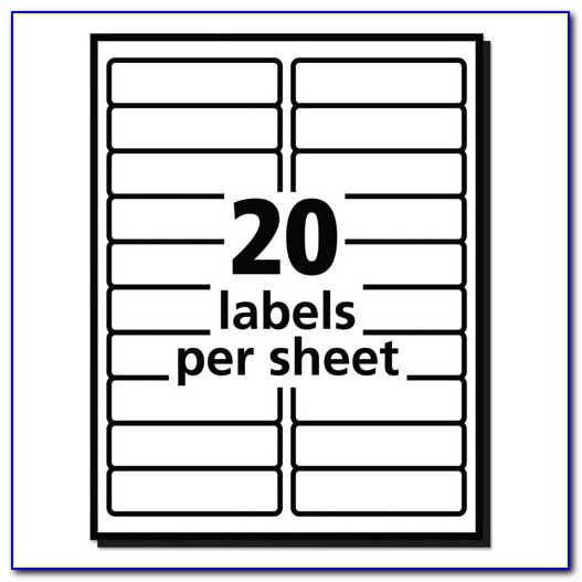 Label Template Avery 5160