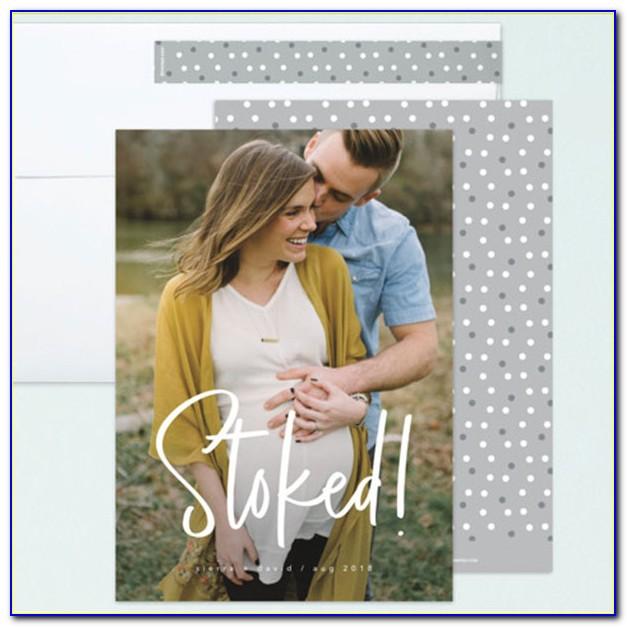 Minted Pregnancy Announcement