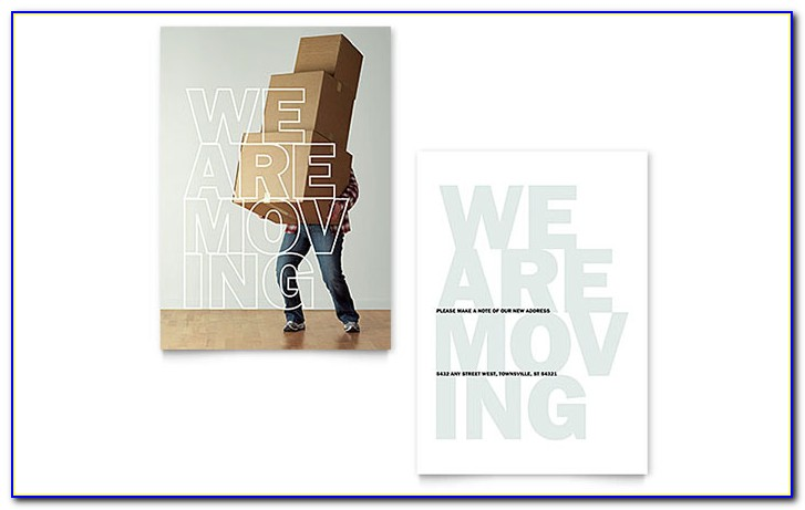 Moving Office Announcement Template