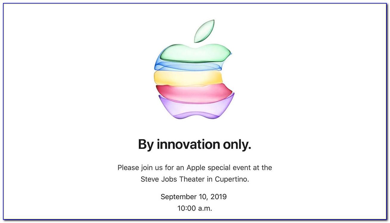 Next Apple Announcement Event