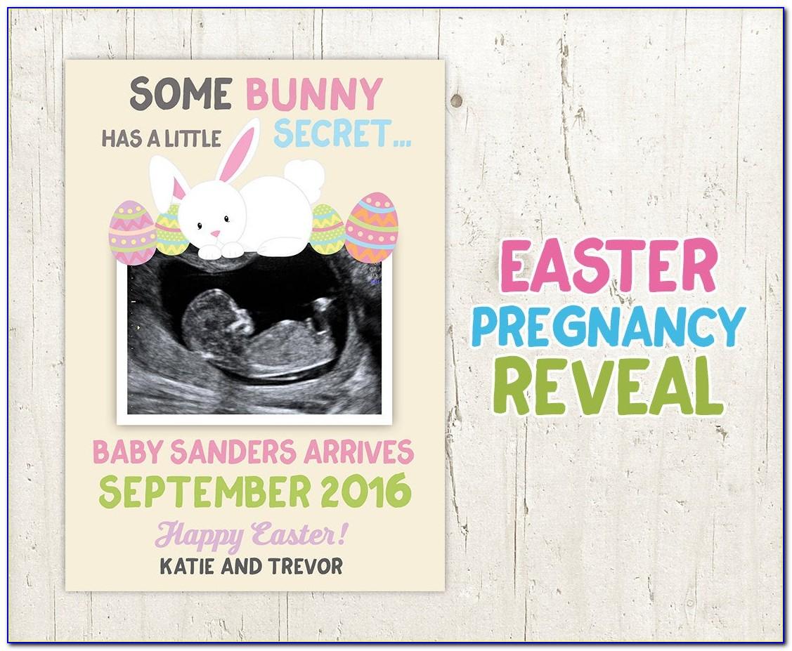 Rabbit Pregnancy Announcement